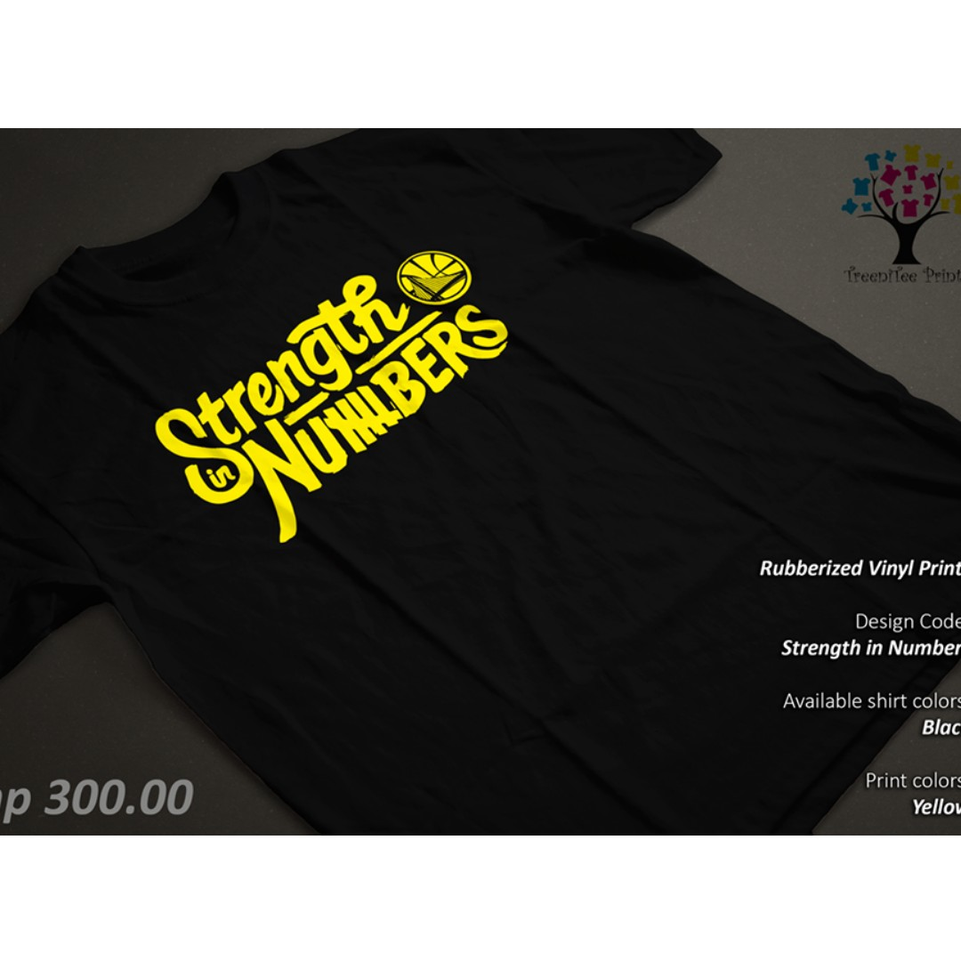 NBA Strength in Numbers GSW Golden State Warrior Shirt/Tshirt