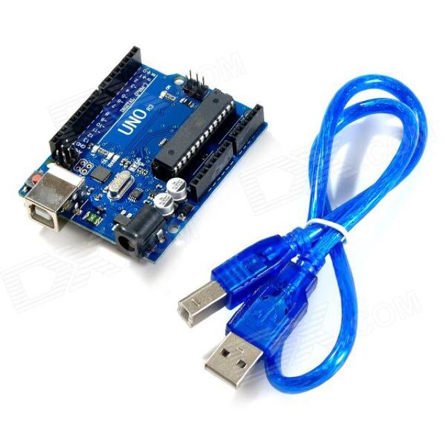 NEW ARDUINO UNO WITH USB CABLE