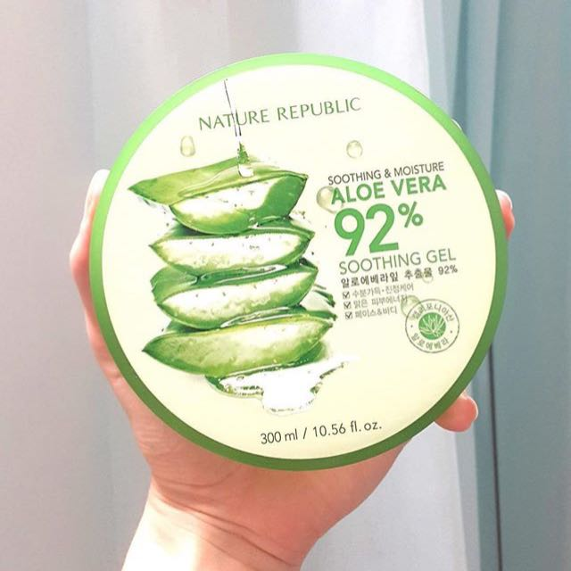 NEW Nature Republic Aloevera Gel
