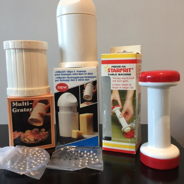 NEW Vintage Cheese / Garlic Graters (3)