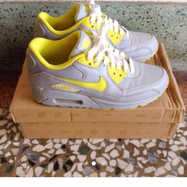 Nike Air max 灰黃色