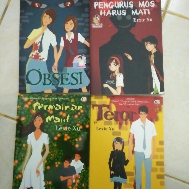 Novel Lexie Xu - Johan Series Completed