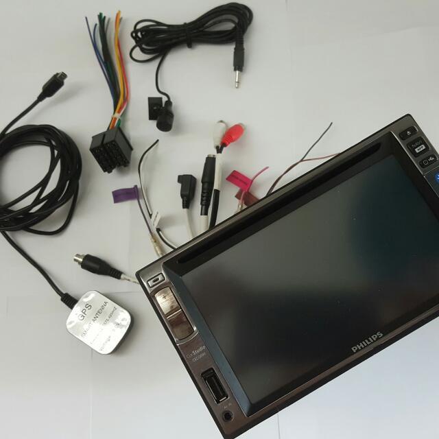 Philips 6寸 DVD 大面板汽車主机