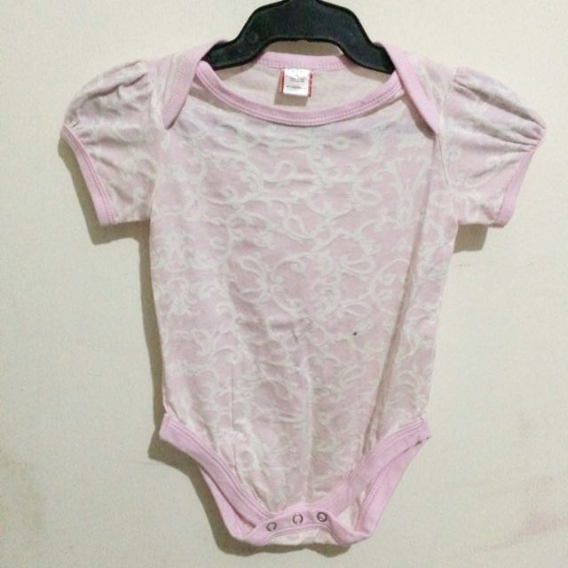 Pink Baby Jumpsuit