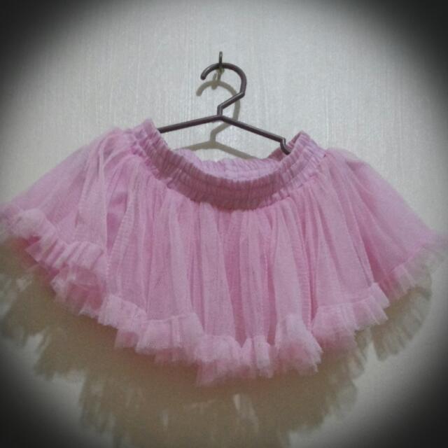 Pink skirt sm little ones