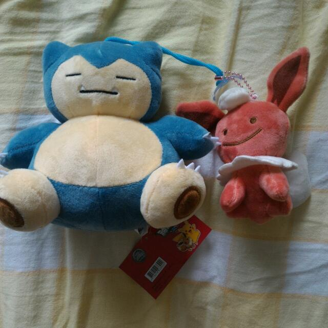 Pokemon 神奇寶貝 精靈寶可夢 玩偶