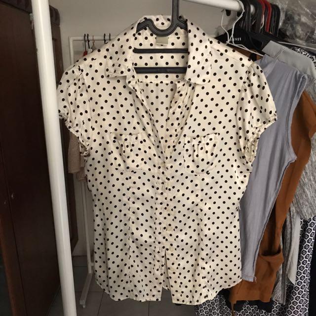 Polkadot blouse