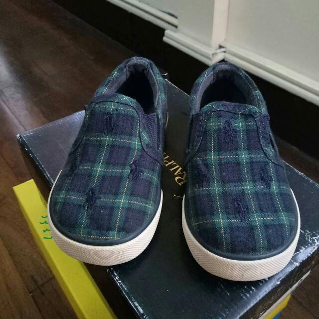 Polo Slip-on Shoes For Toddlers