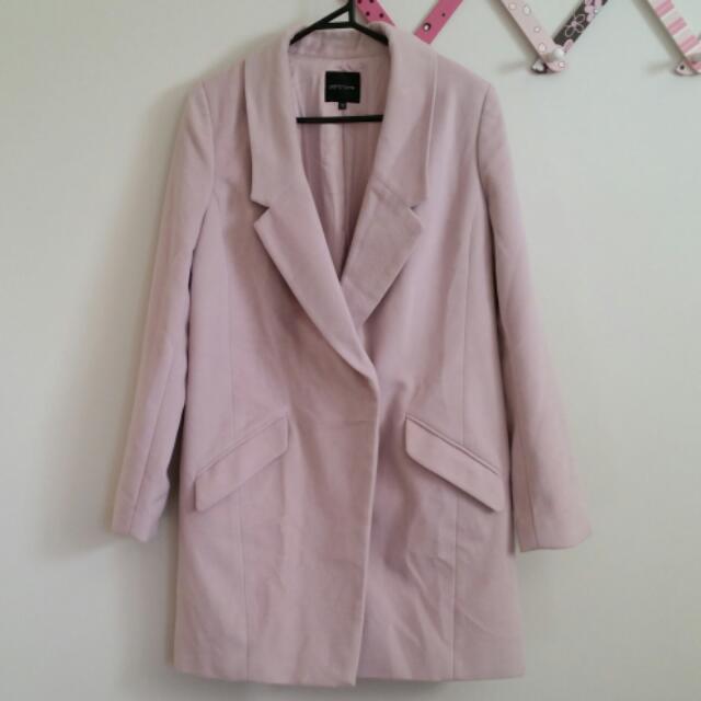 Portmans Light Pink Winter Coat