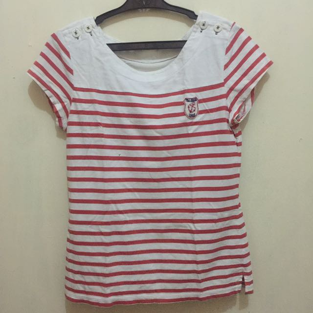 Preloved Stripped Blouse