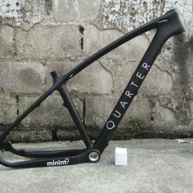 Quarter Minim 9 Carbon 29er hardtail Frame