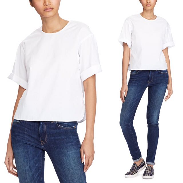 Ralph Lauren $98 White T-Shirt