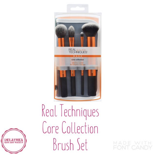 Real Techniques Core Collection Brush Set