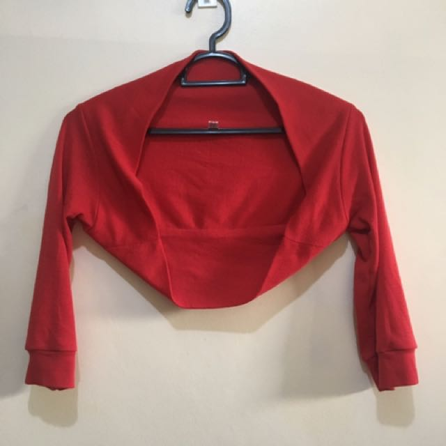 Red Cardigan Small