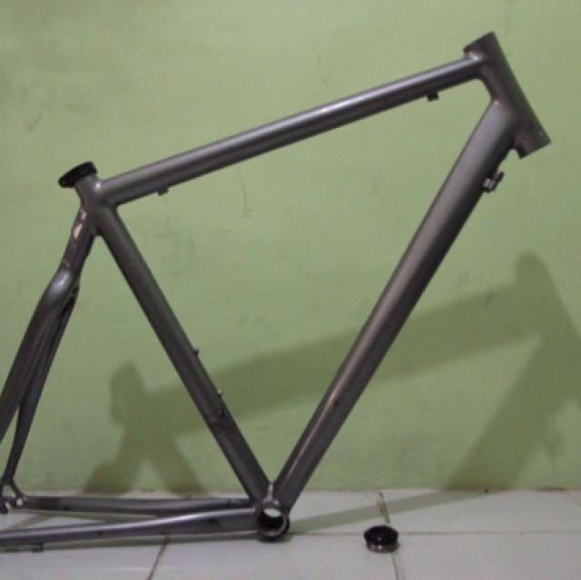 Road Bike Frame Carbon-Aluminum
