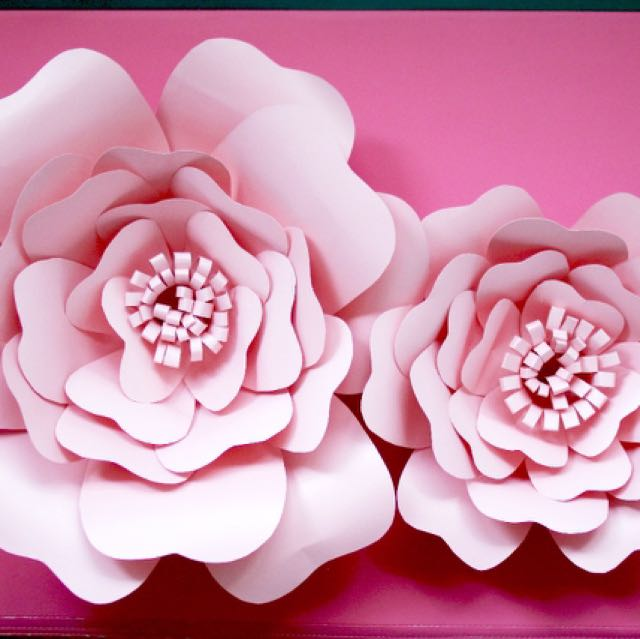 Sale Giant Paper Flower For Backdrop Event Decoration Or Wall