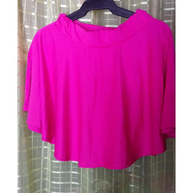 SALE Skater Skirt- Neon Pink