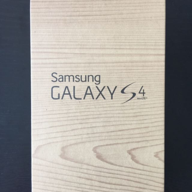 Samsung Galaxy S4 - BOX ONLY!!