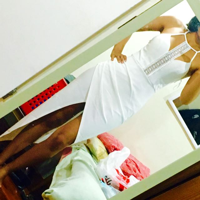 Showpo White Long Dress
