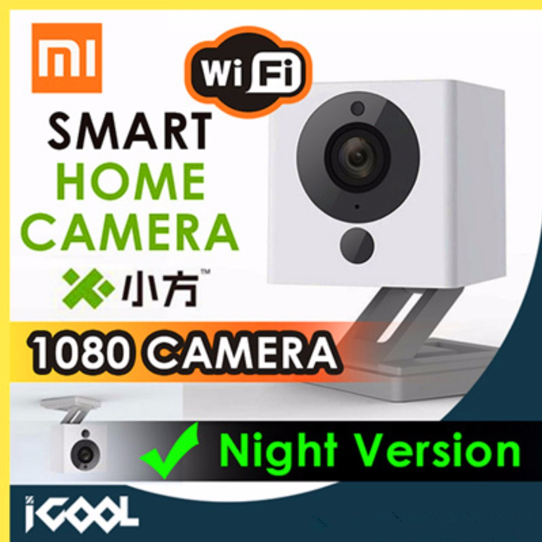 Xiaofang Portable Smart Ip Camera Night Vision 1080p F20 Large Kamera Xiao Fang Xiaomi Cam Cctv Electronics Others On Carousell