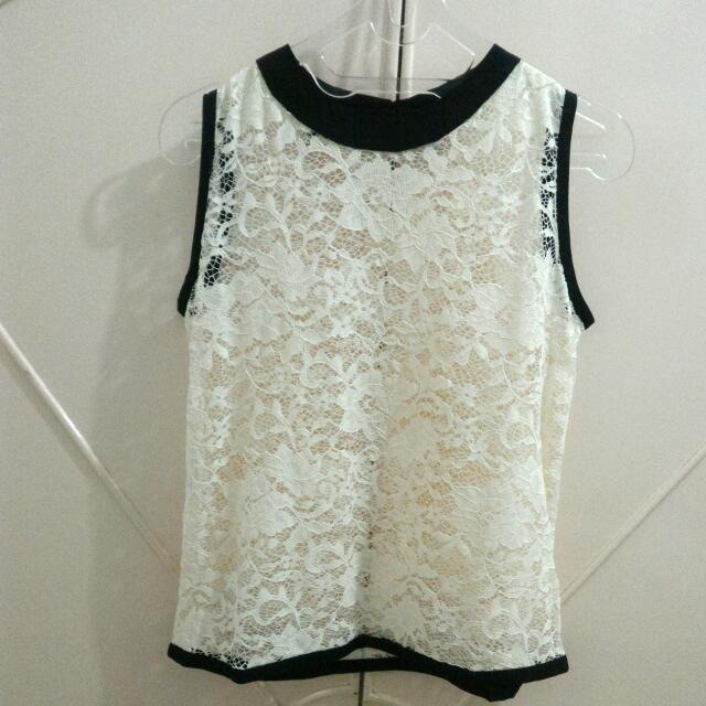 Stratto Brocade Top