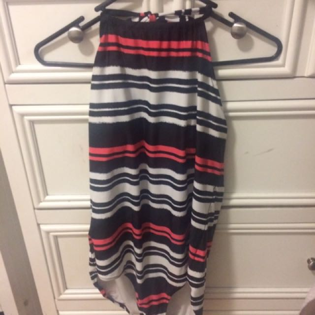 Striped One Piece Cozy