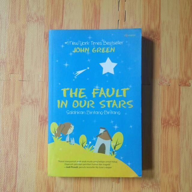 The Fault In Out Stars (Salahkan Bintang Bintang)