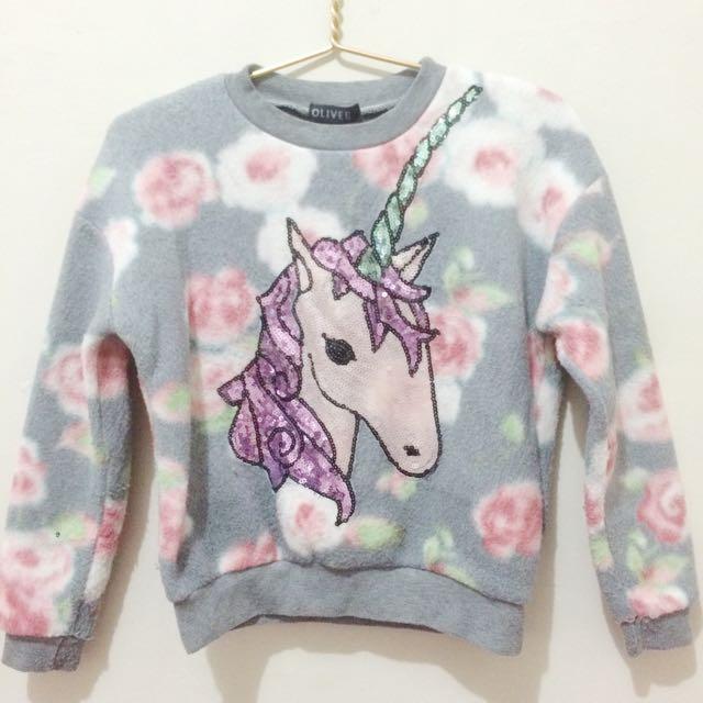 Unicorn Sequin Sweater