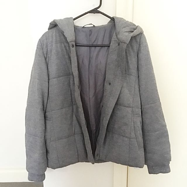 UNIQLO Grey Coat