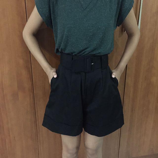 waist short pants