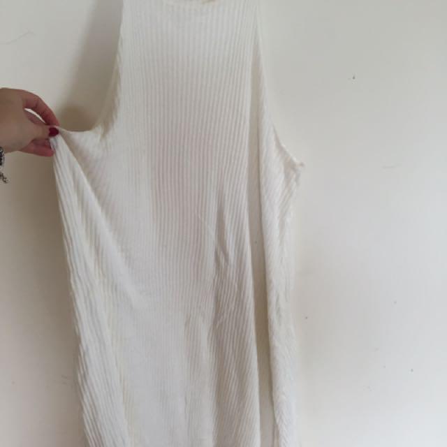 White Drop Dress