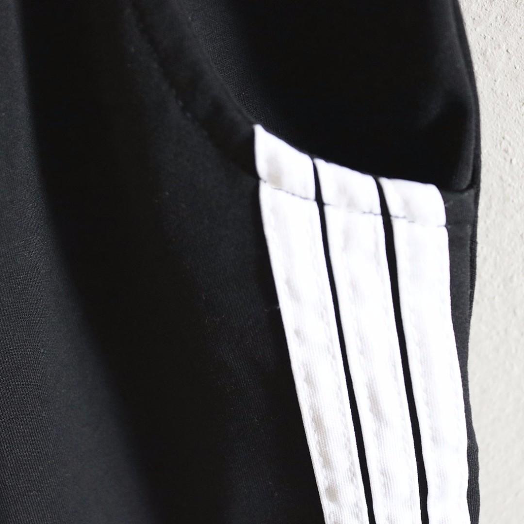 White Striped Sport Pants
