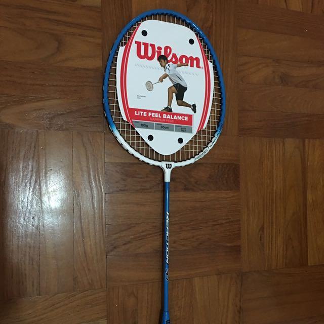 Wilson Badminton Raquette réaction 70