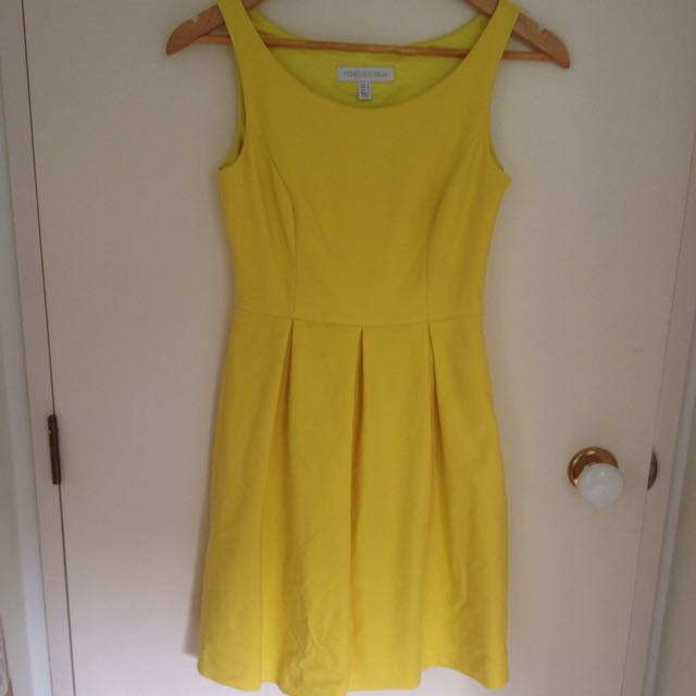 Yellow Forever New Dress