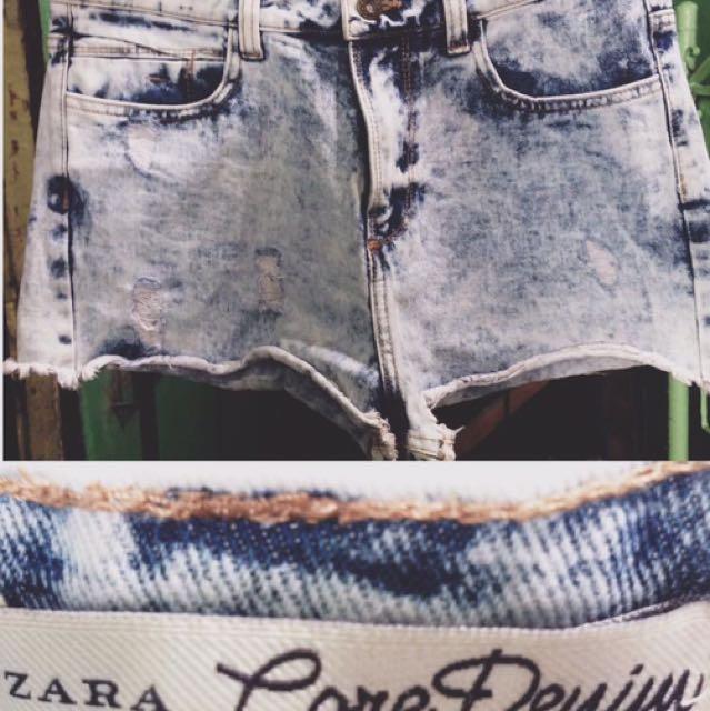 Zara Highwaisted Short