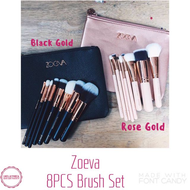 Zoeva 8PCS Brush Set