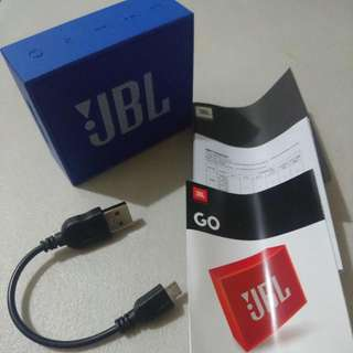 SALE or SWAP!!! JBL Go Bluetooth Speaker (Loud, Crisp Sound)