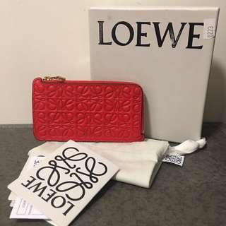 Brand new Loewe Engraved Coins & Cardholder