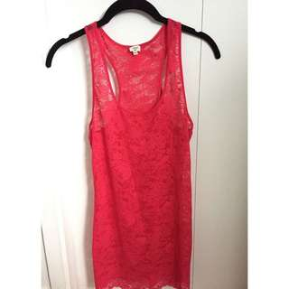 WILFRED lace tank