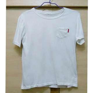 白色口袋素t#我的旋轉衣櫃