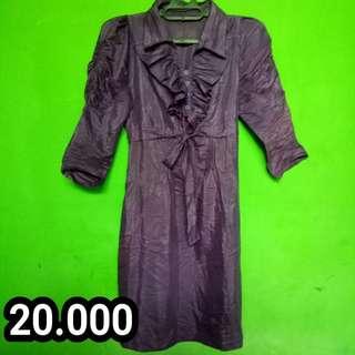 SHORT DRESS UNGU