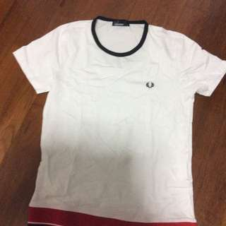 Fred Perry T Shirt Size S