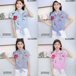 Blouse With Patch