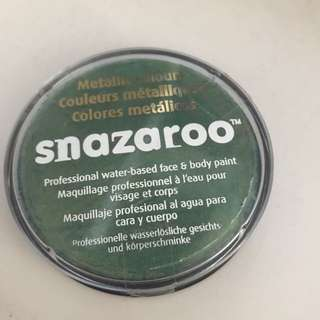 Snazaroo Metallic Colours Professional Water-based Face And Body Paint