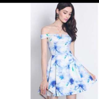 Fayth Off Shoulder Dress