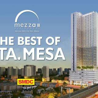 rush for sale condo unit mezza residences in sta mesa manila near in SM sta mesa,LRT line2, schools for affordable value  as low as 9k monthly no spot downpayment preselling/ready to move in