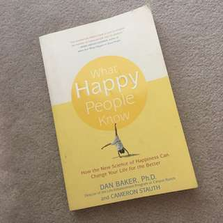 What Happy People Know Book (Well-rated Good Read)