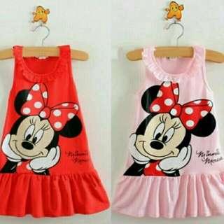 Minnie Mouse Dress - 2y last unit