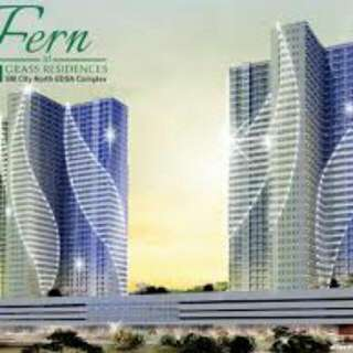rush for sale condo unit Fern Residences in quezon city near in SM north edsa, MRT line3,Trinoma,city hall for affordable value as low as 10k monthly no spot downpayment preselling/ready to move in
