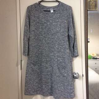soft stretchy long sleeve dress